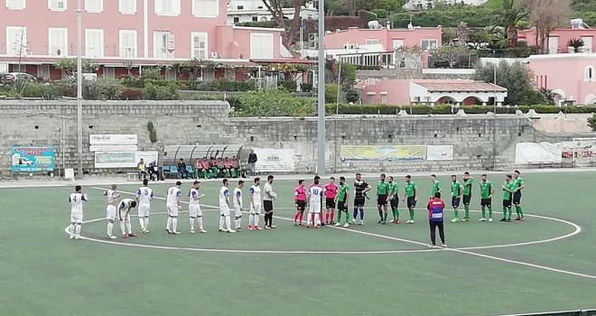 Real Forio, salvezza più vicina: battuto 2-0 il Monte di Procida