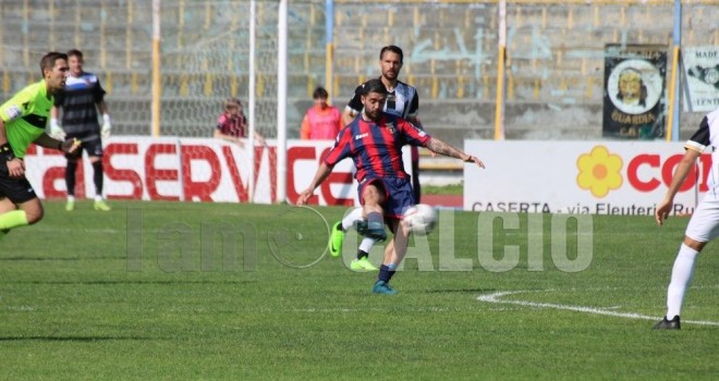 Casertana-Matera 3-0: i falchetti chiudono settimi, play-off in casa