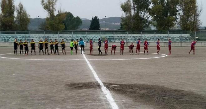 Pari nel big match: Sporting Pontecagnano-Giffoni Sei Casali 2-2