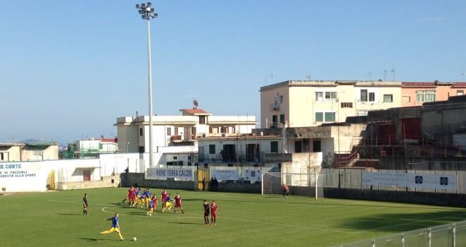 Rione Terra-Puteolana 1909 2-2, il derby flegreo chiude la stagione