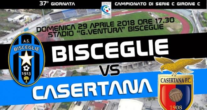 Bisceglie-Casertana: i convocati di mister Mancini