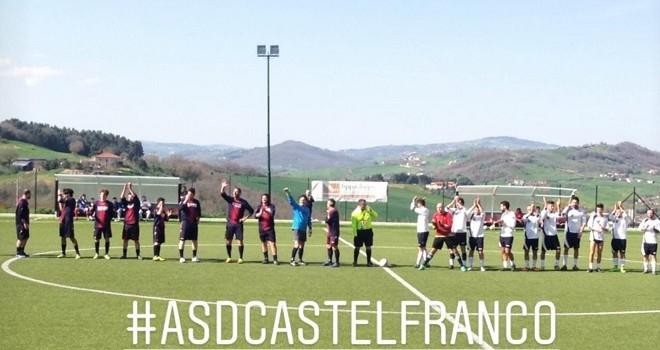 Il Castelfranco torna a vincere: batte il Fragneto e conferma la vetta