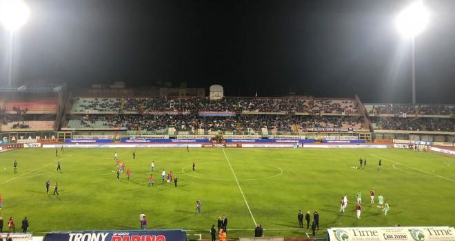 Catania-Trapani: le formazioni ufficiali del match