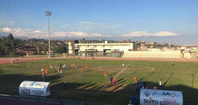 Santa Croce - Misterbianco: 1-0. Di Rosa decide allo scadere.