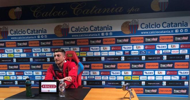 """Catania,Mazzarani:""""Vediamo cosa accade il 6 maggio, dobbiamo vincere"""""""