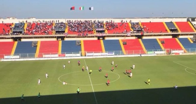 VIDEO - Taranto-Manfredonia 8-1, gli highlights del match