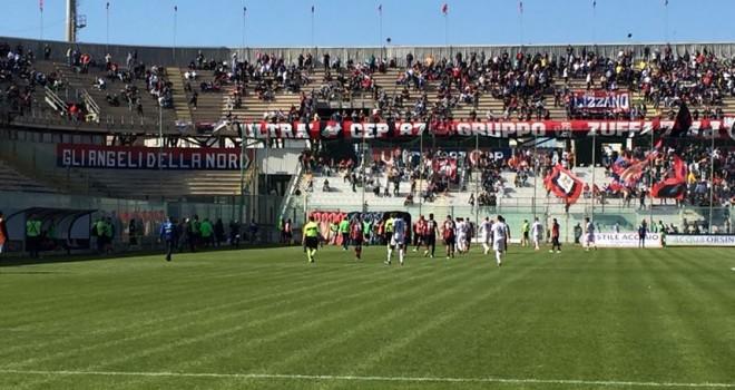 Serie D/H, dati spettatori 30° giornata: Gravina e Taranto in testa