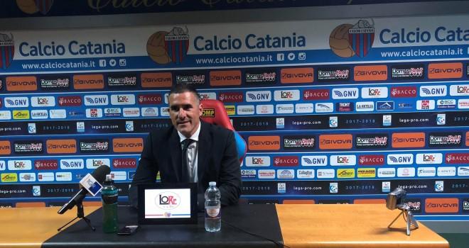 """Catania,Lucarelli:""""Dispiace tanto, è stato un Catania a due facce"""""""