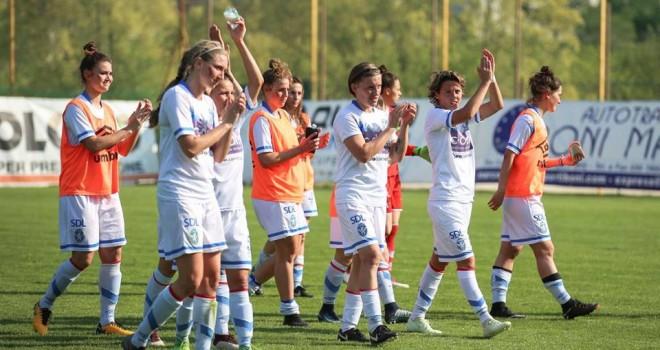Il Brescia CF cede, sul finale, il derby all'Atalanta Mozzanica