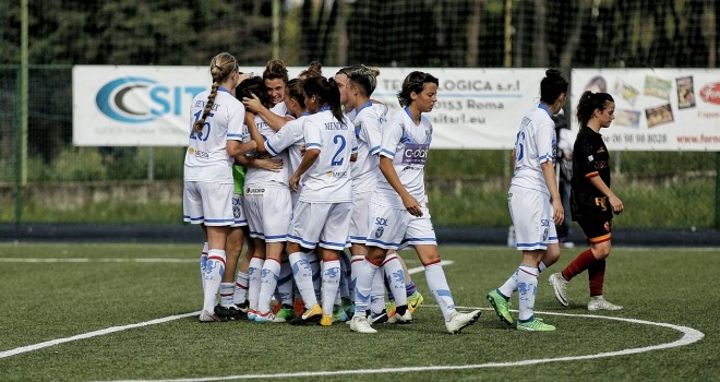 Il Brescia CF cala il tris alla Res Roma ed è ancora al primo posto