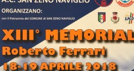 Giovanissimi, stasera e domani va in scena il Memorial Ferrari 2018