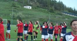 Calcio femminile, il Picerno chiude con una vittoria a Viggiano (0-2)