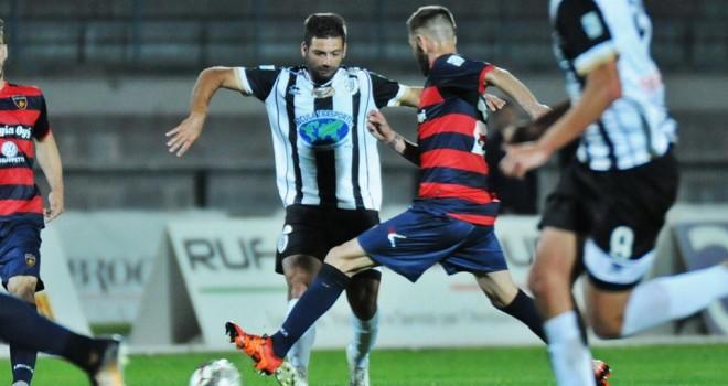 Cosenza-S.Leonzio: 2-1. I bianconeri sfiorano la grande impresa.
