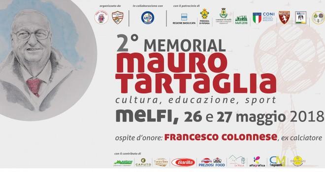 """Sabato e domenica """"2° Memorial Mauro Tartaglia"""" a Melfi"""