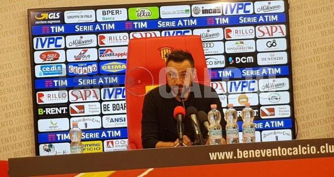 """Benevento. De Zerbi:""""Lascio: difficile ripartire da una retrocessione"""""""