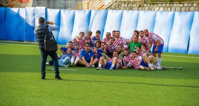 L'Atletico Lauria campione
