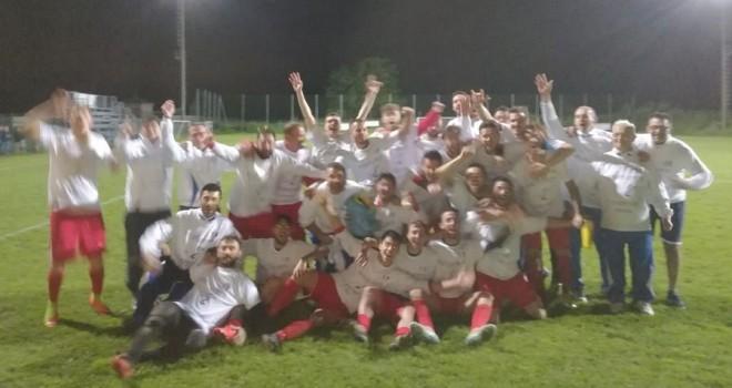 Storica Valmalone: centro al primo colpo, è promozione in Seconda!
