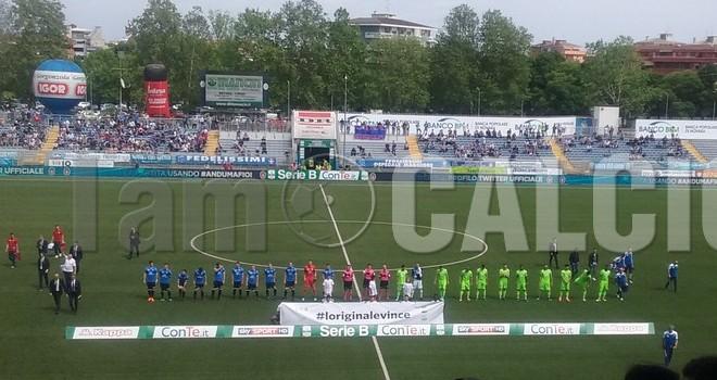 Novara-Pescara 1-1, terzo pareggio di fila per gli azzurri