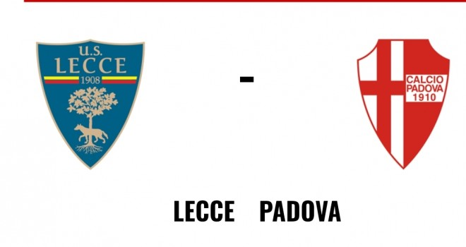 Lecce-Padova: le formazioni ufficiali