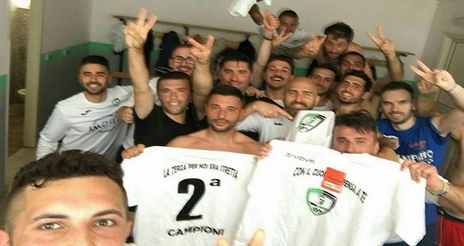 Il Real Sassano vince il girone D e conquista la Seconda