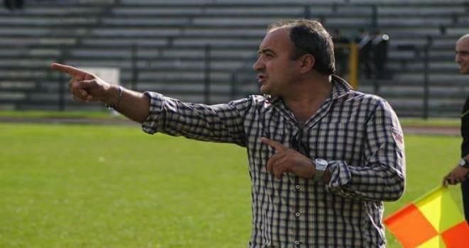 L'allenatore Giovanni Menna