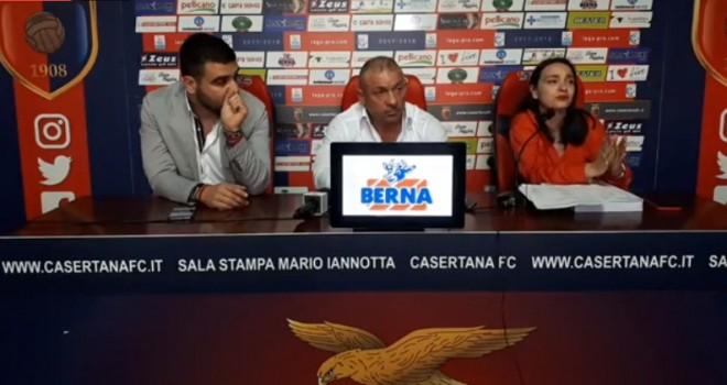 VIDEO - Casertana. La conferenza stampa del presidente D'Agostino