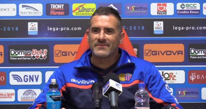 """Catania, Lucarelli: """"Non siamo ancora squadra, adesso Bari con più pressioni di noi"""" 635734-lucarelli"""