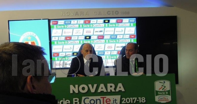 Di Carlo in conferenza stampa