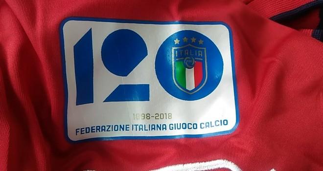 Figc. Una patch per celebrare il 120° anniversario del 1° Campionato