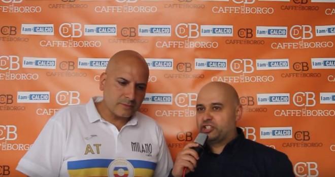 """Talarico si gode l'Eccellenza: """"Abbiamo fatto il nostro percorso"""""""