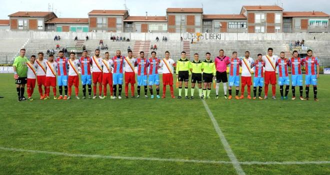 Igea Virtus - Catania: 0 - 1