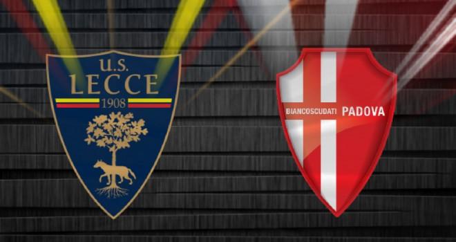 Lecce-Padova: le probabili formazioni della gara di Supercoppa