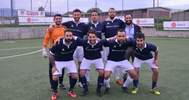 Il team della Banca Sella