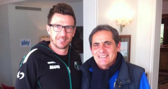 Mister Di Pasquale con Di Francesco