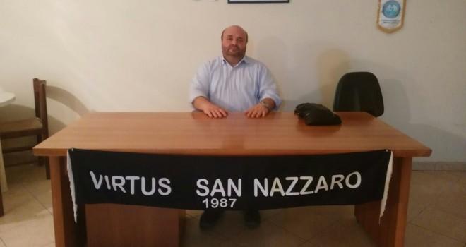 Il Pres. M. Ciampi, Virtus San Nazzaro
