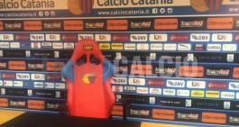 Catania. Lunedì 21, mister Lucarelli in conferenza stampa