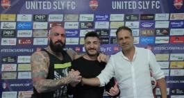 """Sly United, rinnova Emanuele Amoruso. """"Felicissimo di essere qui"""""""