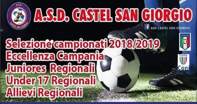 Castel San Giorgio: a inizio luglio le selezioni per la stagione 18-19