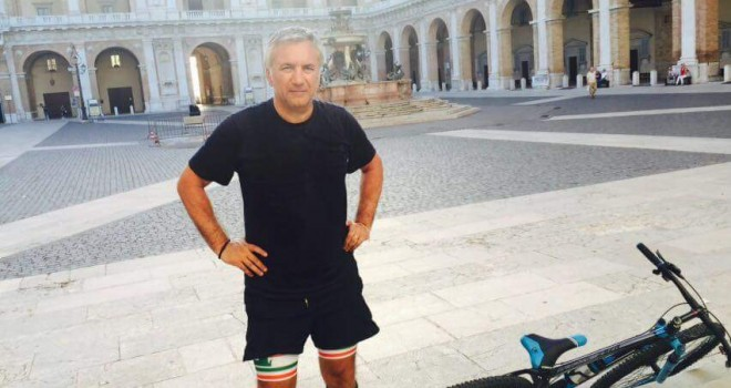 Lecce in Serie B e Meluso mantiene la promessa: 115 km in bici