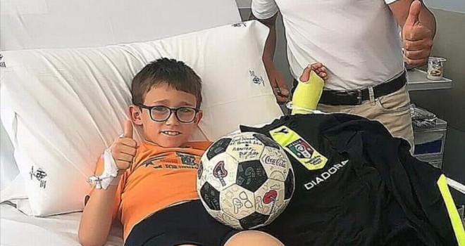 Grande gesto di solidarietà di 'Pino' Lopez all'ospedale di Biella