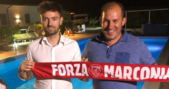 Antonio D'Onofrio firma col Marconia