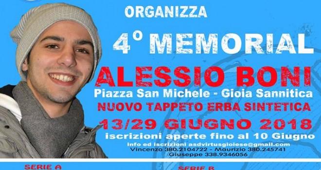 """La Virtus Gioiese organizza il """"Quarto Memorial Alessio Boni"""""""