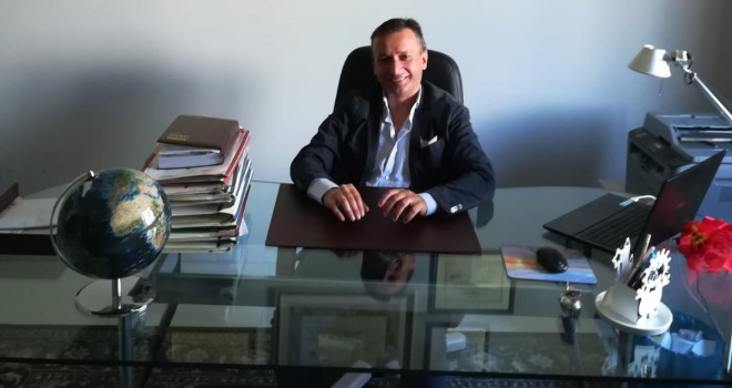 Il presidente Alessandro Santorufo