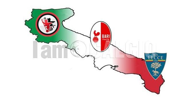 Tornano le tre pugliesi in Serie B