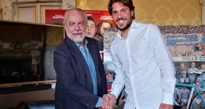 Foto SSC Napoli, De Laurentiis e Verdi