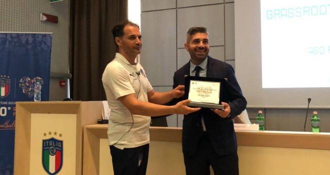 La Uefa premia l'ASD Real Casarea come miglior scuola calcio d'Italia