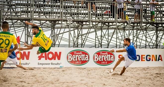 Napoli Beach Soccer, azzurri ko nell'esordio stagionale col Palazzolo