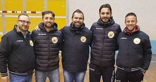 La dirigenza dei Sanniti Five Soccer