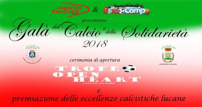Giovedì Gran Galá del Calcio a Sant'Angelo le Fratte