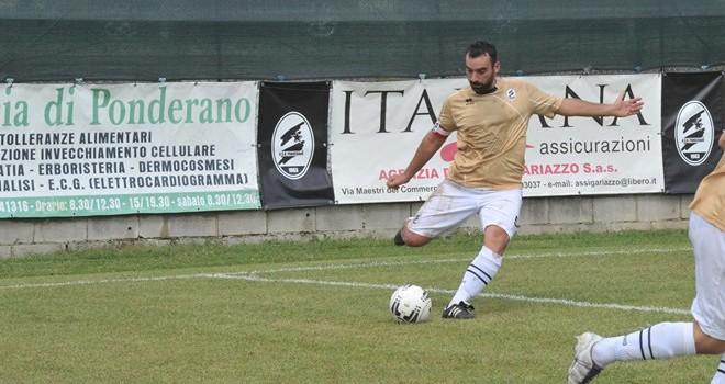 Andrea Rosso in azione